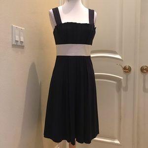 Vera Wang Lavender Label pique cotton dress